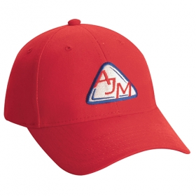 Promotional products: Heavyweight Brushed Cotton Drill -6 Panel Constructed Contour