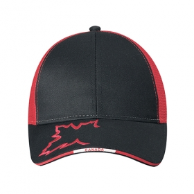 Promotional products: Polycotton / Polyester Mesh -6 Panel Constructed Contour (canada, Mesh Back)