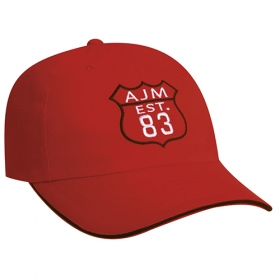 Promotional products: Brushed Cotton Drill -6 Panel Contour