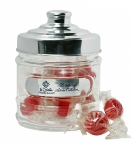 Promotional products: Apothecary jar with stock candies