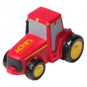 Promotional products: Tractor Stress Reliever Red