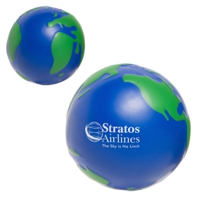 Promotional products: Earthball Stress Reliever Blue/green