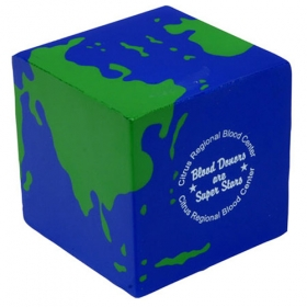 Promotional products: Earth Cube Stress Reliever