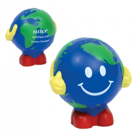 Promotional products: Earthball Man Stress Reliever