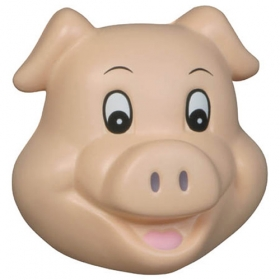 Promotional products: Pig Stress Reliever Funny Face