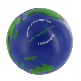 Promotional products: GEL-EE GRIPPER EARTHBALL