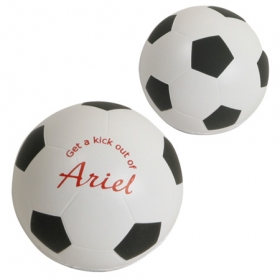 Promotional products: GEL-EE GRIPPER SOCCER BALL