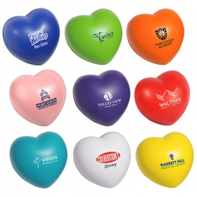 Promotional products: Valentine Heart Stress Reliever