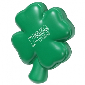 Promotional products: 4-leaf Clover Stress Reliever