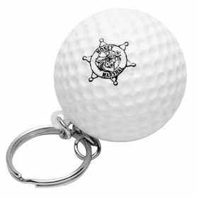 Promotional products: Golf ball key chain