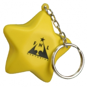 Promotional products: Star key chain