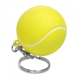 Promotional products: Tennis ball key chain
