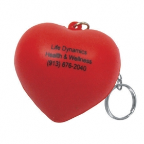 Promotional products: Valentine heart key chain