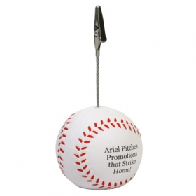Promotional products: Baseball memo holder