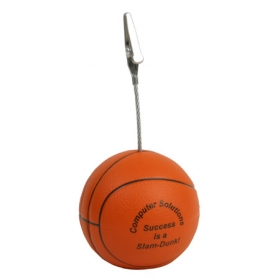 Promotional products: BASKETBALL MEMO HOLDER