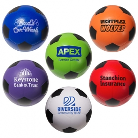 Promotional products: Soccer Ball Stress Reliever