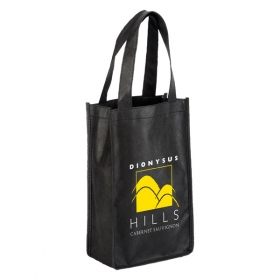 Promotional products: Product in Action; ORCHARD BREEZE 2-BOTTLE WINE BAG