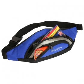 Promotional products: WAIST PACK ROYAL BLUE/BLACK
