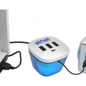Promotional products: POWER HUB STATION MOBILE CHARGER