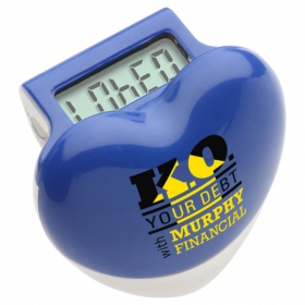 Promotional products: HEALTHY HEART STEP PEDOMETER