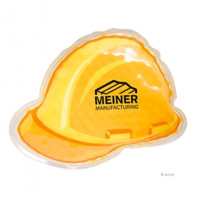 Promotional products: Hard Hat Hot/cold Pack Yellow