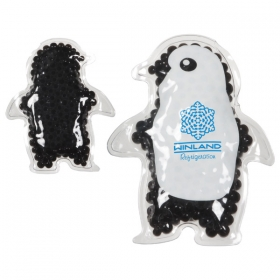 Promotional products: PENGUIN GEL HOT/COLD PACK BLACK