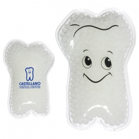 Promotional products: TOOTH GEL HOT/COLD PACK WHITE