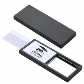Promotional products: QUICK CHECK COMB & MIRROR BLACK