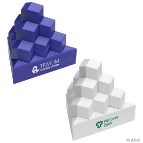 Promotional products: Product in Action; PYRAMID STACK PUZZLE SET