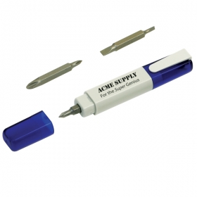 Promotional products: QUICK FIX SCREWDRIVER PEN