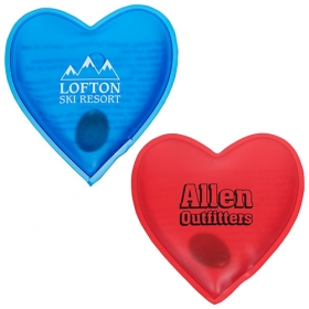 Promotional products: Reusable Magic Hand Warmer Heart