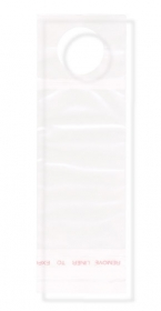 "Promotional products: Clear Polypropylene Bottle Neck Bag 2.5"" x 7.25"" - 1 1/4"""