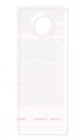 "Promotional products: Clear Polypropylene Bottle Neck Bag 3"" x 7.25"" - 1 1/4"