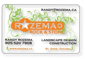 "Promotional products: .020 Clear Matte PVC Wallet Cards (2.125"" x 3.375"") screen-printed"