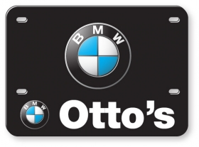 "Promotional products: .060 White Styrene Licence Plates (5.625"" x 7.875"") Full color"