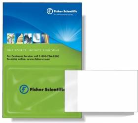 """Promotional products: Magnetic Card Holder With Top Opening (3.75"""" X 5.5"""") 4cp & Varnish"""