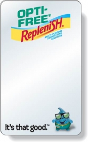 """Promotional products: .040 Shatterproof Copolyester Plastic Mirror / With Magnetic Back (3"""" X 5"""") Four Color Process"""