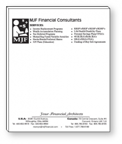 """Promotional products: 50 Sheet Magnetic Note Pads (3.5"""" X 4.25"""") - Spot Color"""