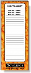 """Promotional products: 50 Sheet Magnetic Note Pads (2.75"""" X 7"""") Four Color Process"""