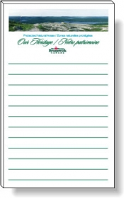 """Promotional products: 50 Sheet Magnetic Note Pads (3"""" X 5"""") Four Color Process"""