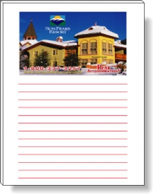 """Promotional products: 50 Sheet Magnetic Note Pads (4.25"""" X 5.5"""") Four Color Process"""