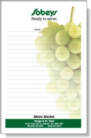 """Promotional products: 50 Sheet Magnetic Note Pads (5.5"""" X 8.5"""") Four Color Process"""