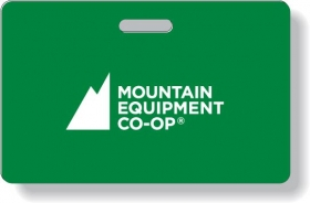 """Promotional products: .030 Premium Neck Tag / with compressed lamination both sides with punched slot. Horizontal (2.125"""" x 3.375"""") Four color process on front black on back"""