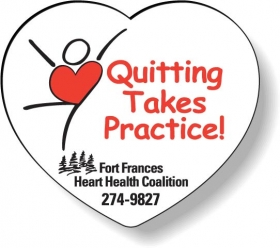 """Promotional products: .020 Stock Shape Magnets / Heart (1.875"""" X 2.1"""") Screen-printed"""