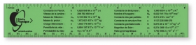 "Promotional products: Flexible Colored Rulers .020 Translucent Polypropylene / square corners (1.5"" x 8.25""). Screen-printed"