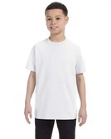 Promotional products: Jerzees Youth 9.3 oz., 50/50 Heavyweight Blend™ T-Shirt White