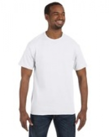 Promotional products: Jerzees 9.3 oz., 50/50 Heavyweight Blend™ T-Shirt White