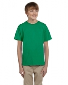 Promotional products: Jerzees Youth 9 oz. HiDENSI-T® T-Shirt White
