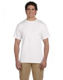 Promotional products: Jerzees 8.3 oz. HiDENSI-T® T-Shirt White