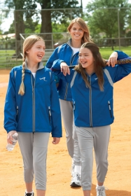 Promotional products: YOUTH LIGHTWEIGHT COLOUR-BLOCK JACKET